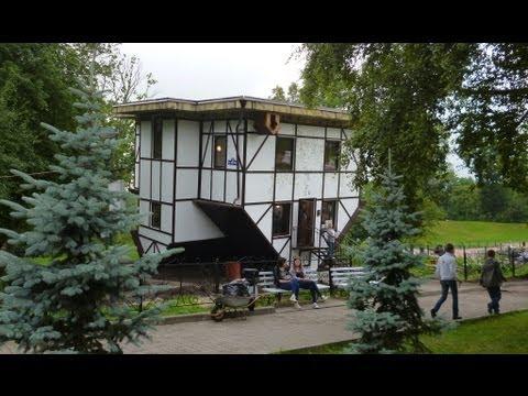 Необычные дома: Дом вверх дном | Upside Down House (Калининград)