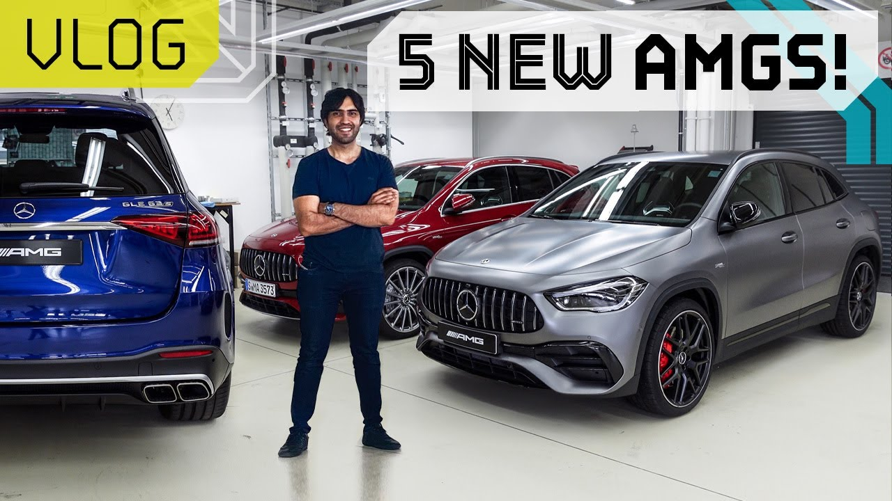 5 New AMGs Coming THIS year! Mr.AMG Press Trip VLOG