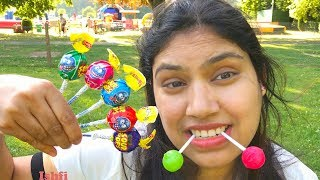 Ishfi Learning Color with Lollipop in Park