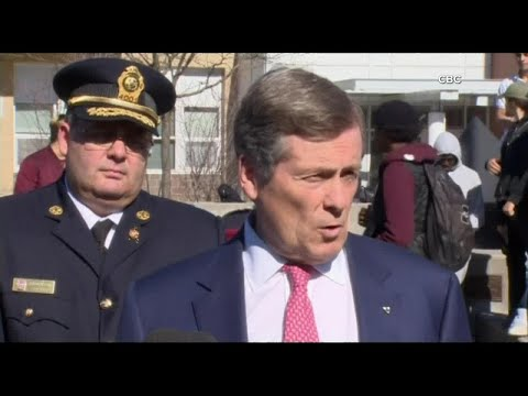 Mayor John Tory and police provide update on Yonge and Finch van attack