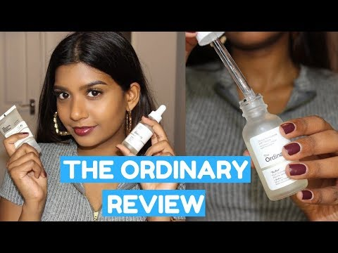 THE ORDINARY SKINCARE 1 MONTH USE REVIEW