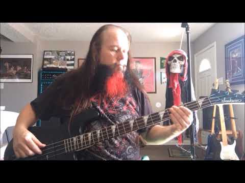 DIO We Rock bass cover by C M E