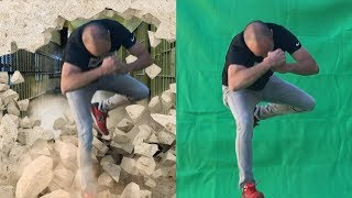 Green Screen Chroma Key and Tracking Tutorial Breaking wall TOP 3