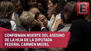 Confirman muerte del asesino de Valeria Cruz