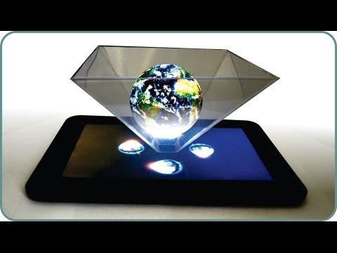 3D Hologram Using Smartphone Or Tablet