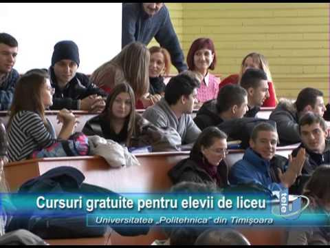 TeleU: Cursuri gratuite pentru elevii de liceu
