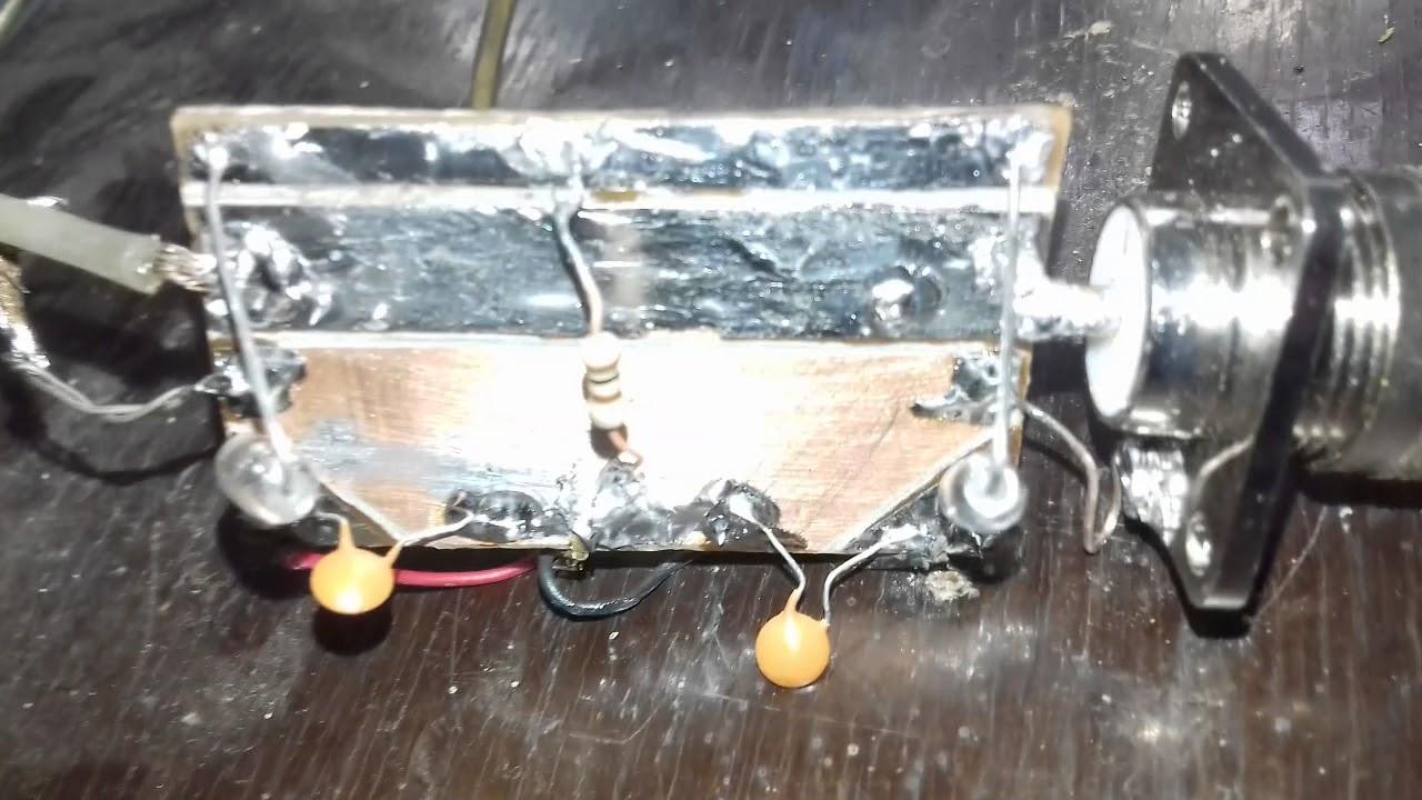 SWR meter stripline for hamradio vhf