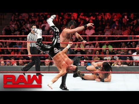 Seth Rollins vs. Dolph Ziggler & Drew McIntyre - 1-on-2 Handicap Match: Raw, Aug. 6, 2018 Mp3