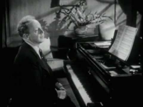 Artur Rubinstein plays Liebestraum nº3 Liszt HQ  High Quality