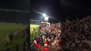Einde van finalewedstrijd Roeselare - Antwerp 11/03/2017