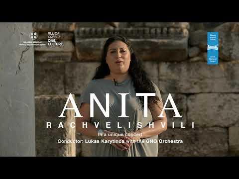 Anita Rachvelishvili at the Roman Agora of Athens - Greek National Opera | Promo 2020