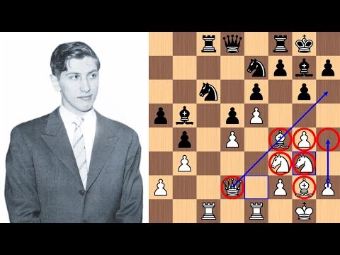 Bobby Fischer vs Oscar Panno: King's Indian Attack | 1970
