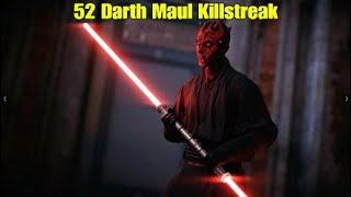 52 Darth Maul Killstreak - Star Wars Battlefront ll