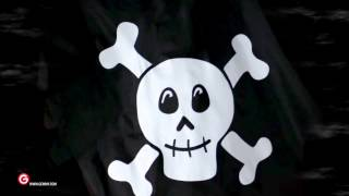 """""""the Good Grief"""" Peanuts Pirate Ship Animated Airblown® Inflatable By Gemmy"""