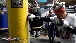 Vasyl Lomachenko's COMPLETE Heavy Bag workout ahead of Jason Sosa fight