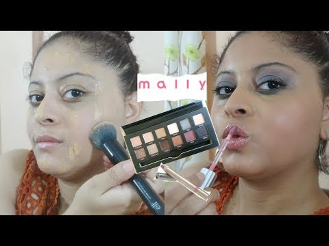 FULL FACE USING ONLY MALLY BEAUTY MAKEUP 2017