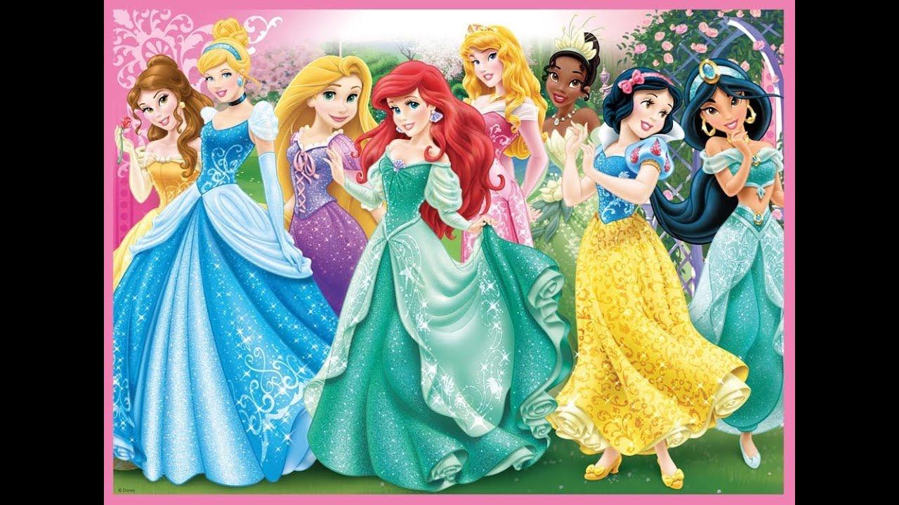 Tributo a las princesas disney youtube - Image de princesse disney ...
