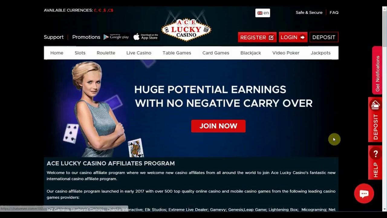 casino affiliates program