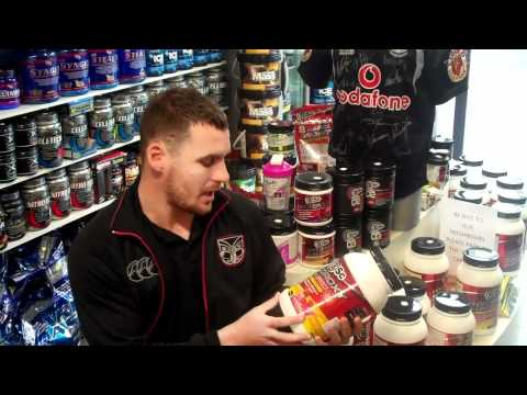Supplement Facts w/  Brett Seymour From the Vodafone Warriors