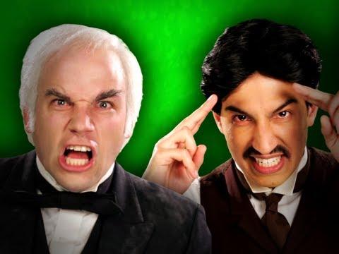 Epic Rap Battles of History - Behind the Scenes - Nikola Tesla vs Thomas Edison