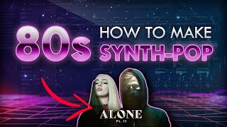 How to make 80'S SYNTΗWAVE POP - FL Studio
