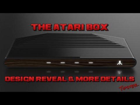 ATARI BOX DESIGN OFFICIALLY REVEALED!!!