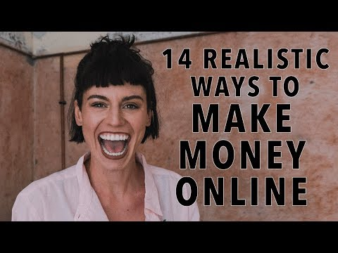 14 Realistic Ways To Make Money Online - Real-Life Examples on How To Become a Digital Nomad