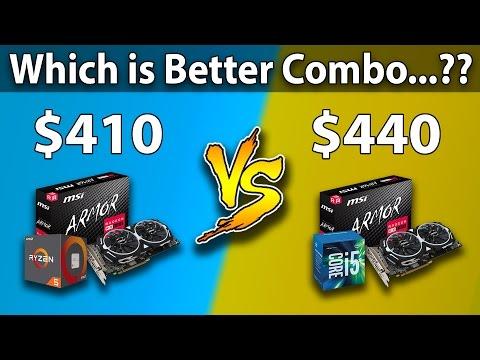 AMD Ryzen 5 1400 vs Intel Core i5-6500 | RX 580 | Games Benchmarks