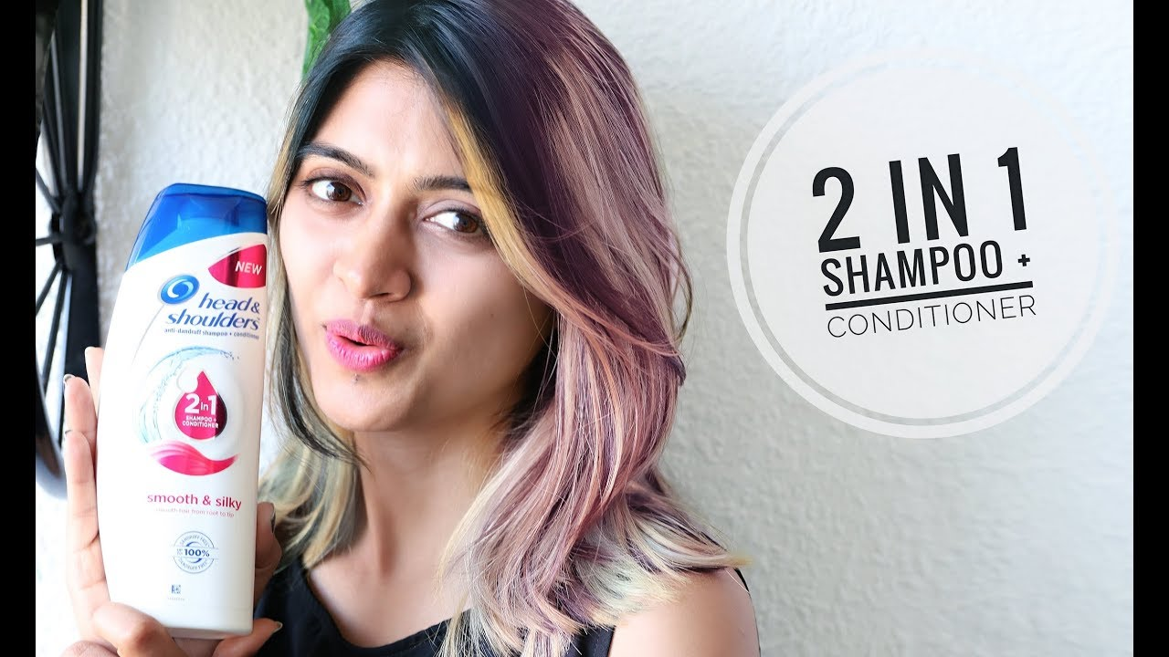2 In 1 Shampoo Conditioner Head Shoulders Review Dandruff Cure Youtube