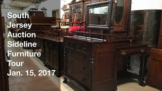 January 15, 2017 Sideline Furniture Tour - South Jersey Auction