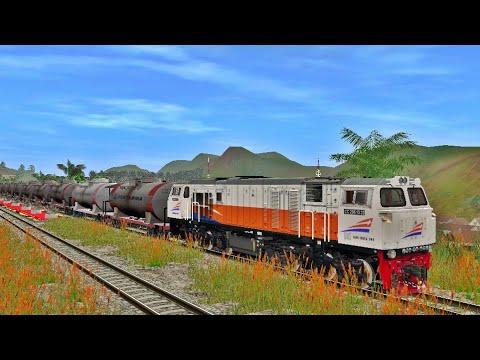 cc-206-menarik-rangkaian-bbm-pertamina---trainz-simulator-indonesia