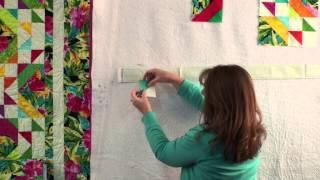 Tropics- Strip Presentation By Cozy Quilt Designs