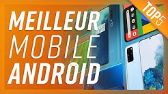TOP5: LES MEILLEURS SMARTPHONES ANDROID (2020)