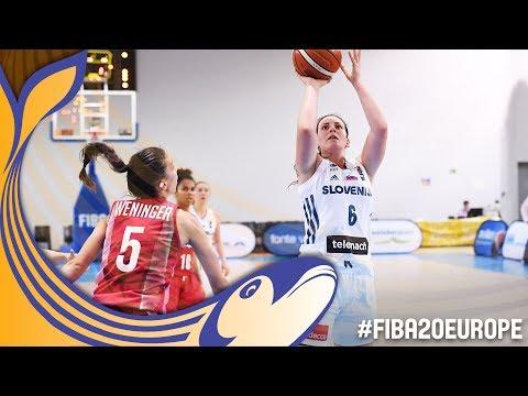 Slovenia v Hungary - Full Game - FIBA U20 Women's European Championship 2017