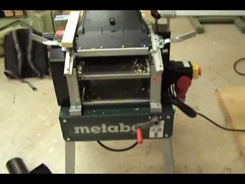 Assembling and Review of Metabo HC 260C - YouTube