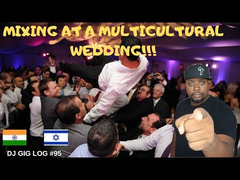DJ GIG LOG #95 | MIXING AT A MULTICULTURAL WEDDING| MOBILE DJ 2019