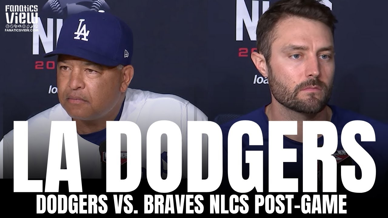 Download Dave Roberts & AJ Pollock React to Dodgers Chances Down 3-1 vs. Braves, Justin Turner Out for NLCS