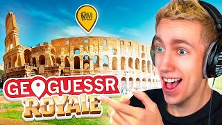 GeoGuessr BATTLE ROYALE vs FRIENDS!!