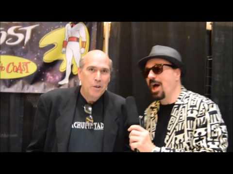 Video  of George Lowe the voice of Space Ghost
