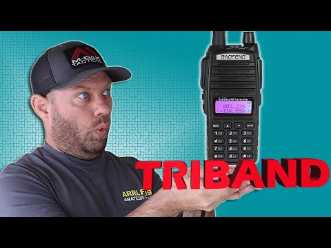 Baofeng UV-82x3 Triband Ham Radio Review and Power Testing