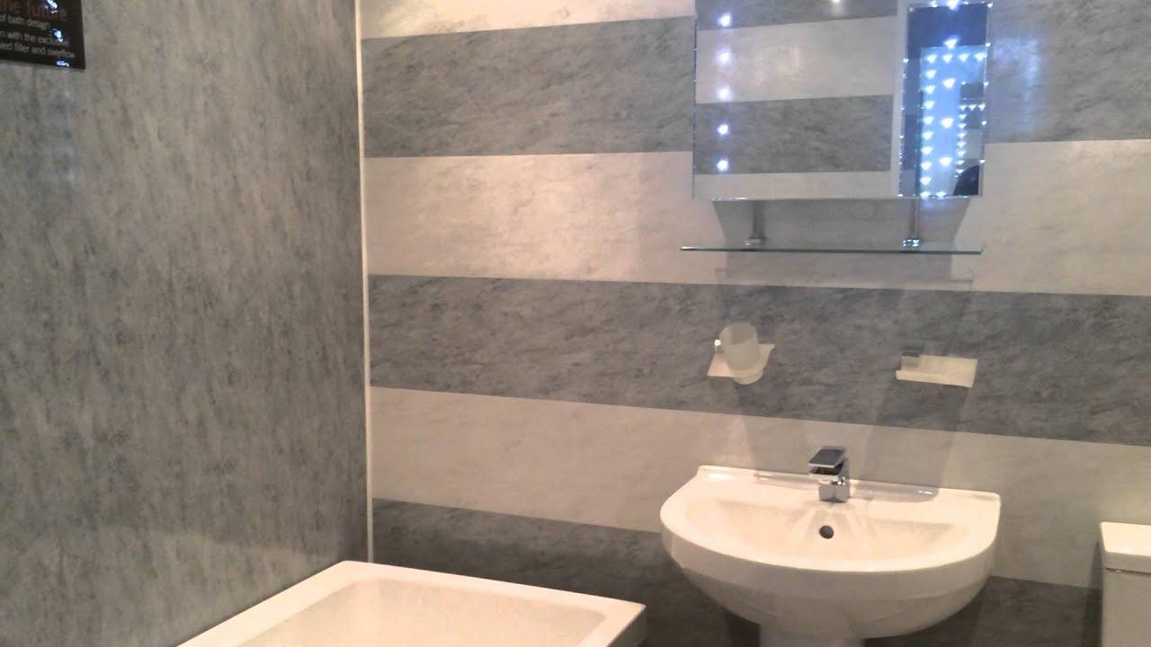Inari Grey Bathroom Display By DBS Bathrooms