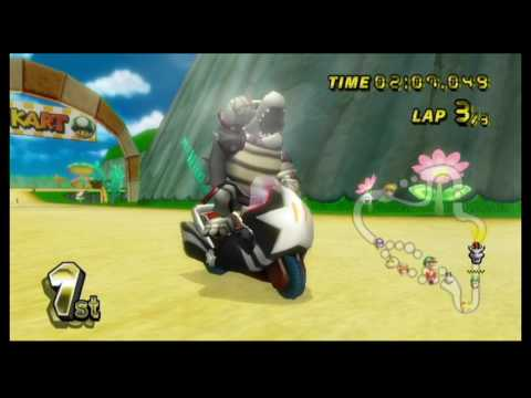 Mario Kart Wii 150cc (3 Star Rank) Playthrough - Mushroom Cup