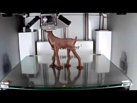 Ultimaker 2 - 3D printing timelapse of a beautiful Deer model