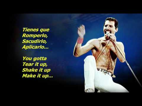 Queen  Tear It Up EspañolInglés