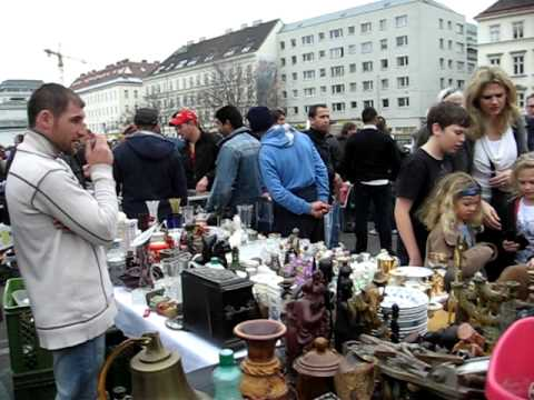 Flea Market @Naschmarkt,