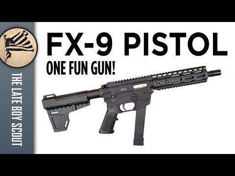 Freedom Ordnance FX-9 Pistol: Let the Fun Begin!