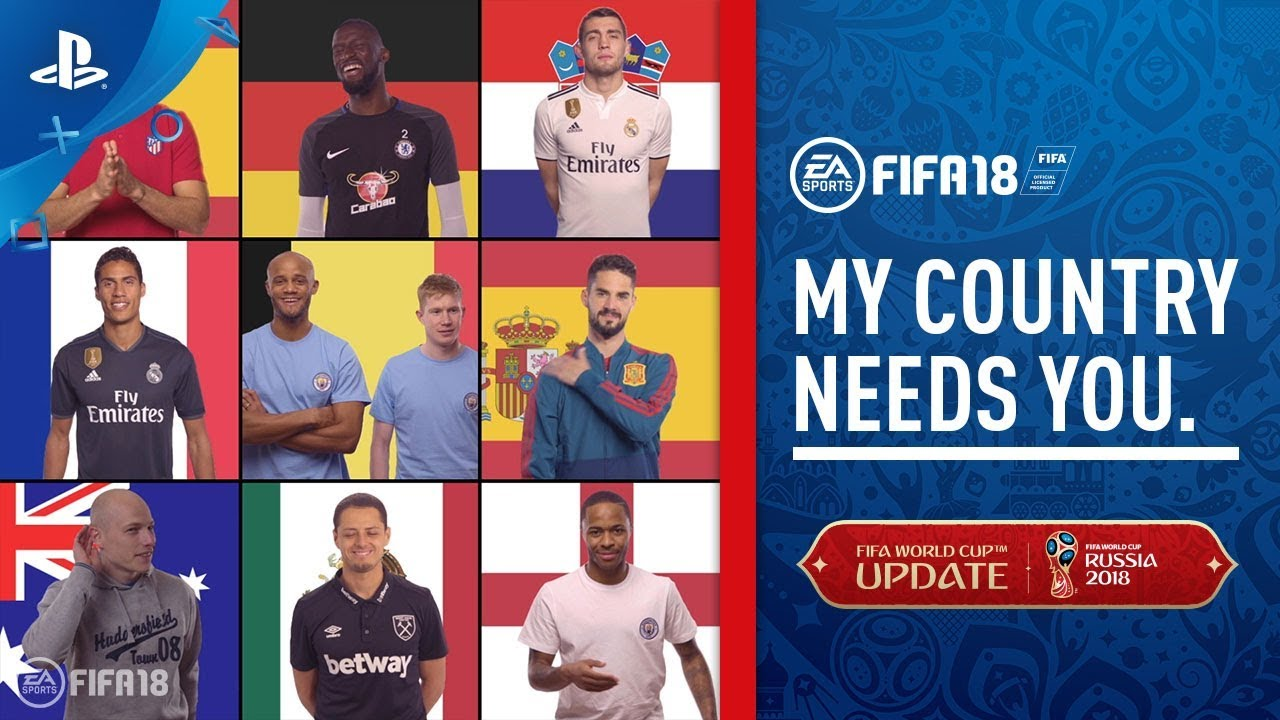 99a395d09 FIFA 18 World Cup - My Country Needs You Trailer | PS4 - YouTube