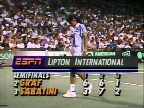 Miami 92: Sabatini vs Graf (3/4)