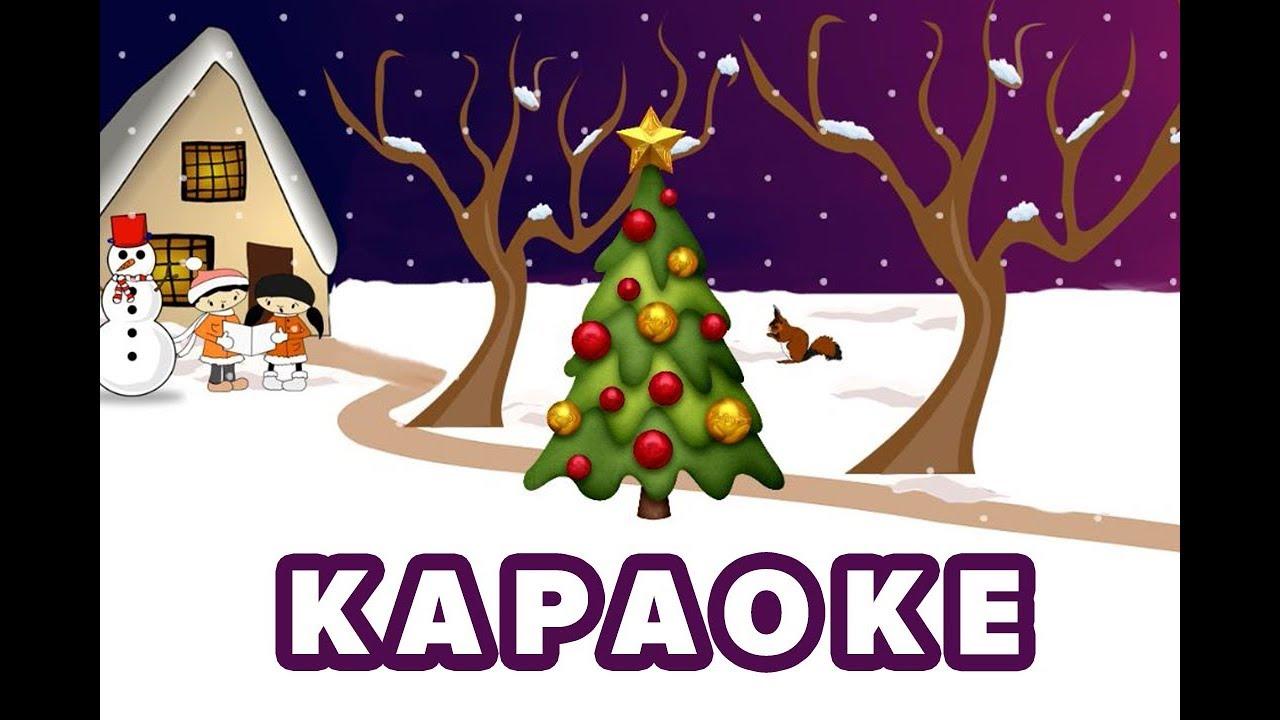 В лесу родилась елочка I Караоке для Детей I Новогодняя ...