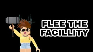 We managed to escape??! 😱😂(ROBLOX-Fle the Facillity) Com inscribed❤